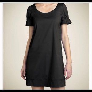 NWOT THEORY little black dress size 6 small silk